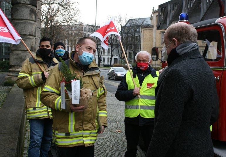 Tannenbaum-Aktion 2020 im Landesbezirk Niedersachsen-Bremen
