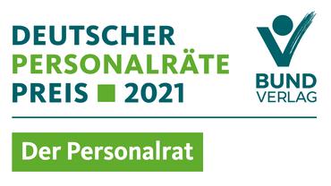 Logo des Deutschen Personalräte-Preises 2021