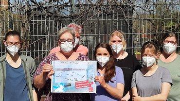 Aktiv werden! Foto-Aktion der Diakonie Baden