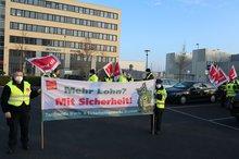 Streik Tarifrunde WaSi Bremen