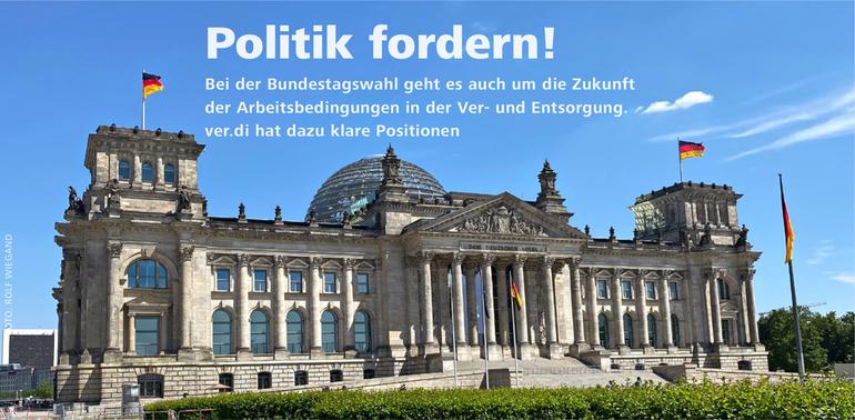 Politik fordern!