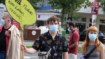 Nach dem Klatschen nun die Klatsche?  - Demonstration und Forderungsübergabe an die Parteien am 11. September 2021 in Hannover